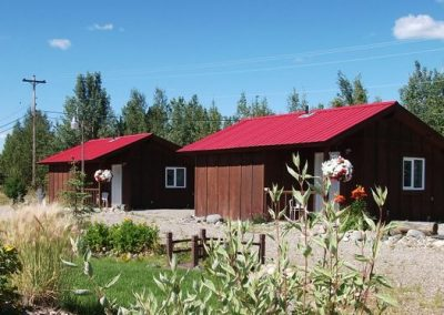 Cabins Watson Lake Summer